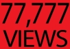 give you GUARANTEED 70,000 real youtube views