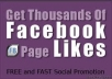 I will provide 500+ facebook likes to any of your fan page