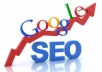 SEO optimize your site only