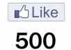 Give u 500+ USA Staying Facebook Fanpages Likes.