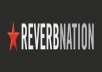 Get You 250+ Real Reverbnation Fans,100% Real & Active Only