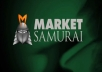 I will give you Market Samurai the best Keyword Research and SEO tool
