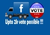 provide 150 facebook app votes