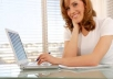 perform personal writing services for