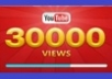 give your YouTube Video Over 40000 Unique Real Views 50 Likes and 50 Subscribers Guaranteed within  96 hrs