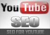 seO your youtube video and get it among the top 5 results shown by youtube