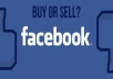 Sell Facebook Pages 1000-100000 fans
