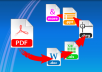 Convert your Pdf Article in .doc Formate in only