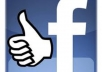 add 5000+ High Quality and PERMANENT Facebook Likes To Your Within 9  to  15 hours