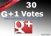 GRANTEED!!!I WILL GIVE YOU 25+ REAL AND SAFE GOOGLE+1 VOTES OR LIKES FOR YOUR ANY KIND OF WEBSITE OR BLOG IN 24 HOURS 100% MANUALLY DONE BY PVA ACCOUNTS NOT USE ANY BOT JUST