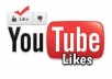 i will give you 50 you-tube video likes from real and famous accounts only