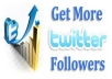 I will give you 50 twitter followers real and safe no dropping and no using bot of course delivery in short time only