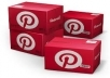 Provide you 620+20+ Pinterest Followers on your website