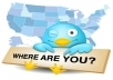 give you 1001+ Twitters Followers 100% real on your website