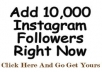 will get you 10,000++ Instagram Followers and 5,000 photo likes without admin access^_^!