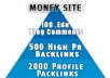 I will create the ultimate seo 3 layer pyramid edu backlinks high pr backlinks and profile backlinks @!