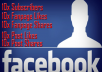 get you 10x Fanpage Likes, 10x Fanpage Shares, 10x Subscribers, 10x Post Likes & 10x Post Shares
