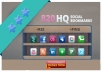 add your site to SEXY HOT 820 social bookmarks high quality backlinks + rss + ping