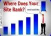 I will submit your site to over 30k statistics sites for quick backlinks plus bonus gigall @!