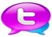 give you 560++ Twitters Followers 100% real on your website