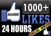 give 1000+ Real Facebook Likes,Facebook Fans To Fanpage From Quality Users !@!!!