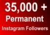 I will give you 35,000+ Instagram Followers And Boost Your Influence With In 8 Hours