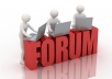 post 20 messages in your forum or blog comments within a 48 hour period