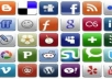 bookmark your website by HAND to top 50 high authority with dofollow social bookmarking websites