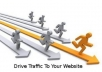 I will give UNLIMITED genuine real traffic to your website for whole month