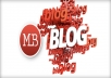 ☛ ★-- do a scrapebox blast of 70 000 guaranteed blog comments backlinks, unlimited urls/keywords allowed --★  ☚