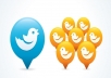add 10,000 High Quality real looking permanent twitter followers to your twitter account within 24 hours