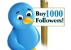 provide you 1299++ Twitters Followers 100% real &amp; active on your account