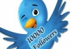 Add &gt; 10.000 Twitter followers [Stay] to your twitter Account in 24 Hrs, dont lost followers 