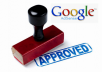 Approved Google Adsense Account