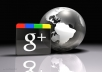 will get you 200 real best QUALITY Google +1 button votes to any webpage or blog in within 12 hours only
