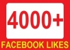 add 4000+ facebook likes / followers or 50000 twitter followers