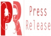 submit the Press Release to 35+ Press Release Distribution sites