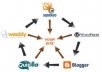 do social bookmarking, link building, article posting