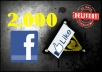 2000 Facebook likes OR 15000 Twitter followers, facebook likes, Twitter follower