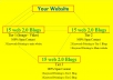 provide 3 Tier link Pyramid with 45 Web 2.0 Blogs Best for SEO