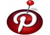 give you 350+  Pinterest Followers 100% real and safe for your account 100% manually done only