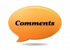70000 blogs comments service