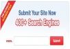 SUBMIT YOUR BLOG / WEBSITE To 400++ Search Engine + Report