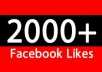 I will provide Real Human Verified 1500+ High Quality Facebook Likes for your any Fanpage within 10 days only