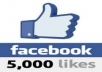 I will provide Real Human Verified 5000++ High Quality Facebook Likes for your any Fanpage within 30 days only