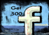 I WILL GIVE 500+ FACEBOOK LIKES FROM REAL ACCOUNTS WITH 100% Guarantee