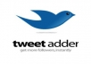 I will provide you Tweet Adder 4.0 is the best Automated Twitter Marketing Software & Promotion