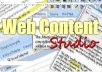 I will provide you  Web Content Studio