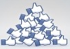 I will get you 200+ **REAL** Facebook likes