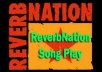 Give you 201+ Reverbnation Fans,100% real without using any robotic software only